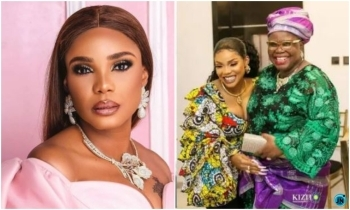 Actress Iyabo continues to mourn her mother, as she celebrates 43rd birthday